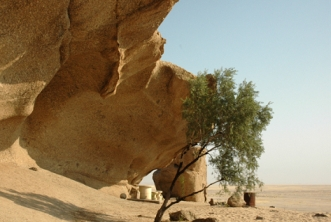 Namibia - Reisebericht - Bergbesteigung
