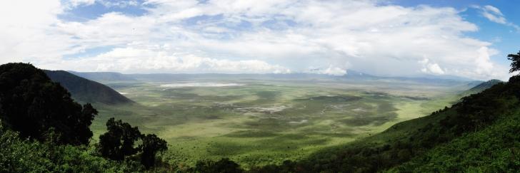 Ngorongoro Panorama