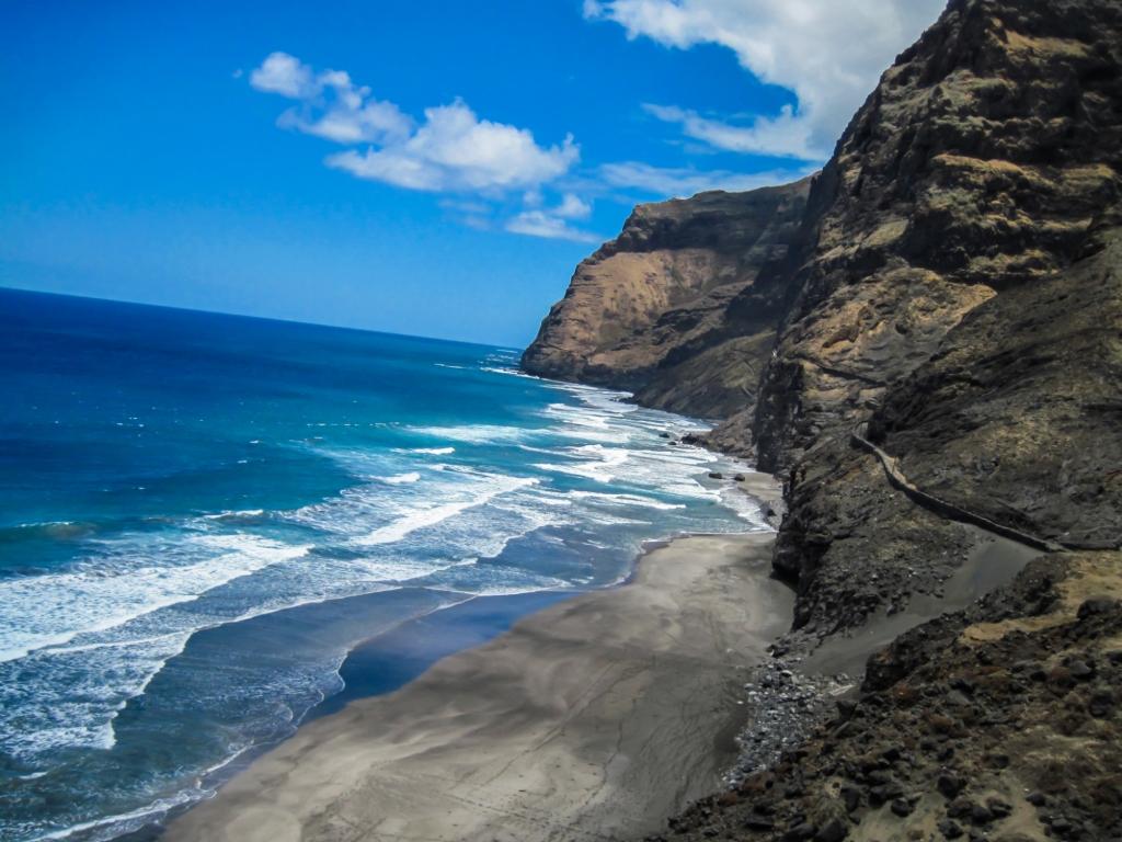 Kapverden-Reise mit Kindern - Santo Antao - Urlaub - Kapverdische Inseln - Familie - Strand