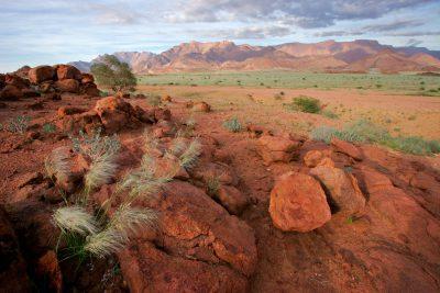 Brandberg Landschaft - Erongo - Namibia