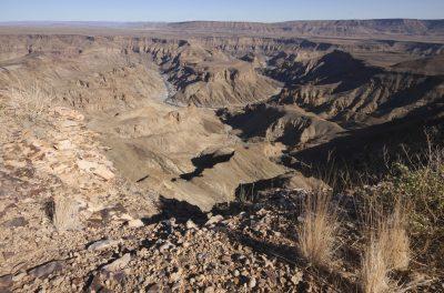 Namibia Gruppenreise - Namibia Suedafrika Botswana Rundreise - Canyon Landschaft - Fish River Canyon - Namibia