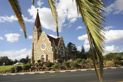 Namibia Mietwagenrundreise - Namibia Selbstfahrerreise - Christuskirche - Windhoek