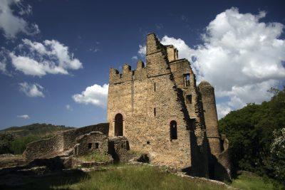 Aethiopien Rundreise -Festung - Gondar - Aethiopien