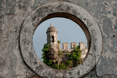 Sao Tome und Principe Rundreise -Festung - Sao Tome e Principe