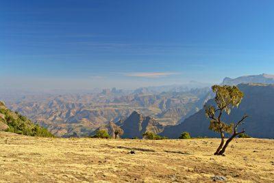 Gebirgslandschaft - Simien Nationalpark - Aethiopien