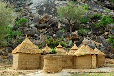 Kamerun Rundreise -Kamerun Reise -Huetten - Kamerun - Afrika