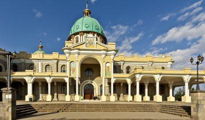 Aethiopien Reise -Aethiopien Rundreise -Kirche - Addis Abeba - Aethiopien