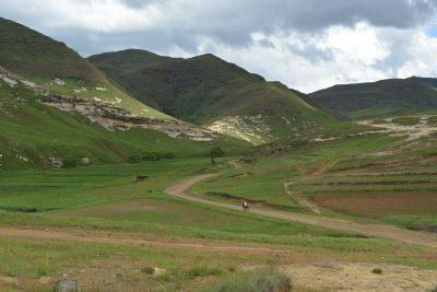 Landschaft - bei Maseru - Lesotho