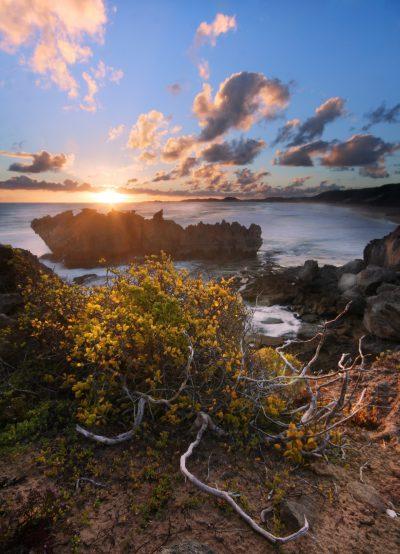Sonnenuntergang bei Knysna - Suedafrika