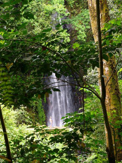 Sao Tome und Principe Rundreise -Aktivurlaub auf Sao Tome und Principe -Wasserfall - Sao Tome und Principe