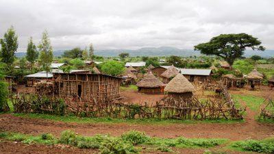 Äthiopien Rundreise Village in Konso