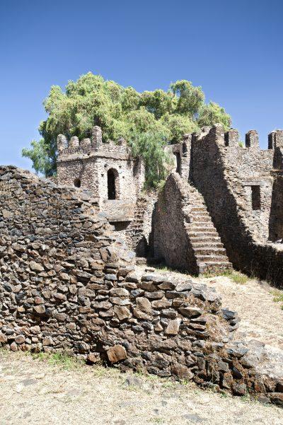 alter Steinpalast - Gondar - Aethiopien
