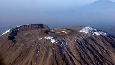 Kilimanjaro von oben - Kilimanjaro - Tansania