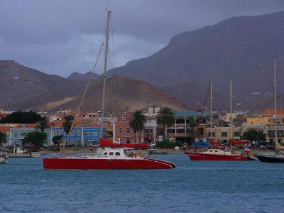 Kap Verde Wanderreise -Hafen - Mindelo Sao Vicente - Kapverden Reisen