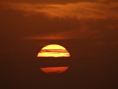 Sonnenuntergang - Santa Maria - Kap Verde