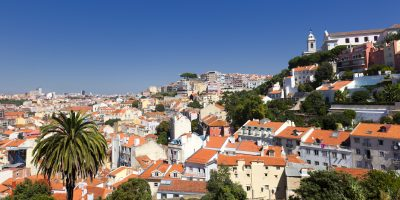 Pnaoramasicht - Lissabon - Portugal