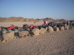 Quad-Tour durch die Wüste