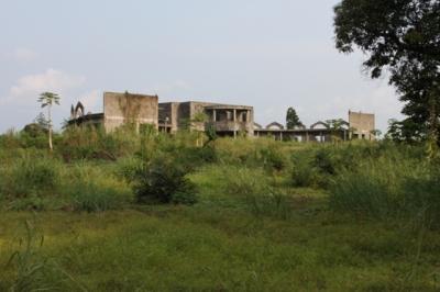 der geplünderte Palast des ehemaligen Diktator Mobutu