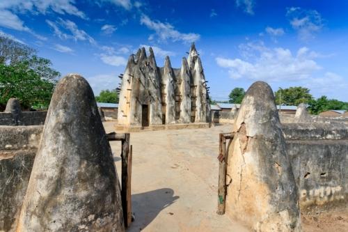 Moschee - Ghana Reise