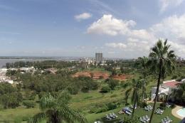 Maputo - Ausblick aus einem Hotel