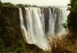 Victoria Fälle in Simbabwe