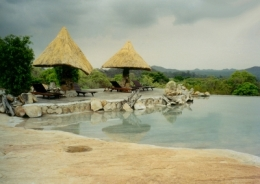Lodge in Simbabwe