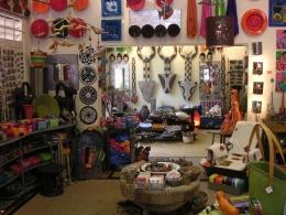 Buntes Geschäft in Joburg