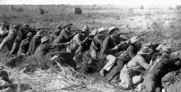 Soldaten im zweiten Burenkrieg