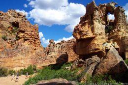 Sandsteinformationen der Cederberge