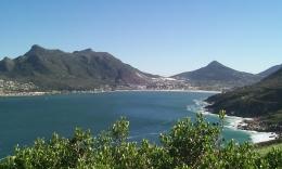 Traumhafte Landschaft in der Nähe Kapstadts