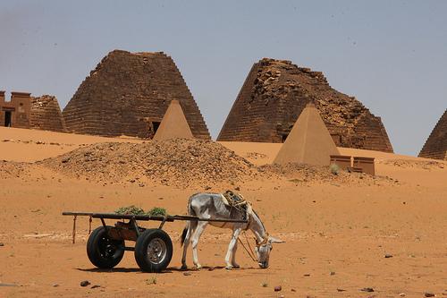 Stark rückständiger Sudan